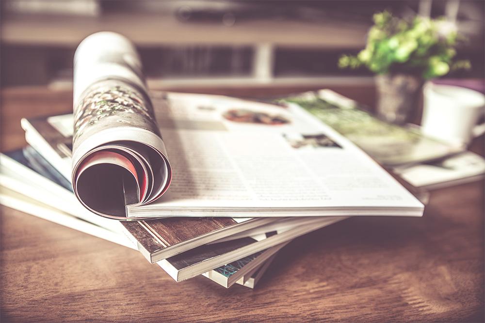 Gutenberg Druck Produkte - Magazine